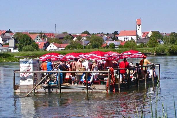 Floßfahrt Donau