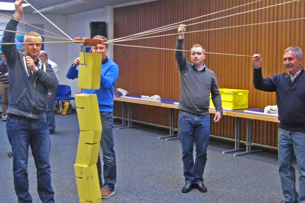 tower of power als idee fuer ihren teamworkshop